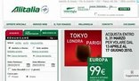Alitalia, più cara se on line
